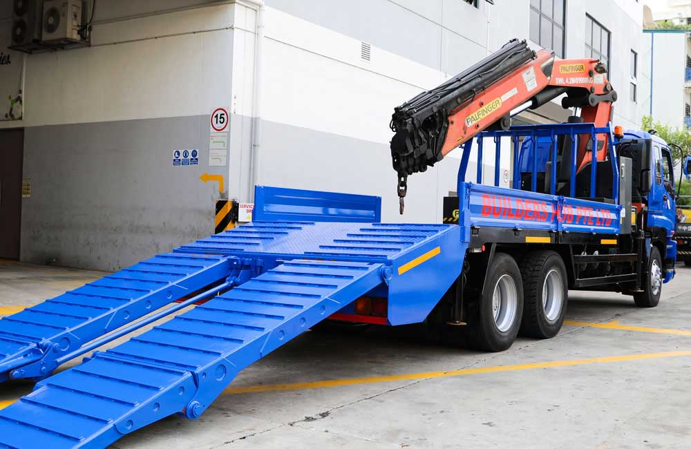 Lorry Crane Self Loader