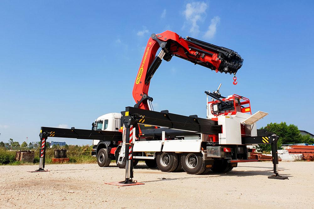 PK 200002 L SH - Palfinger Lorry Crane