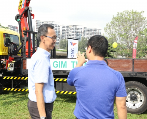 Hort Show - Lorry Crane Showcase