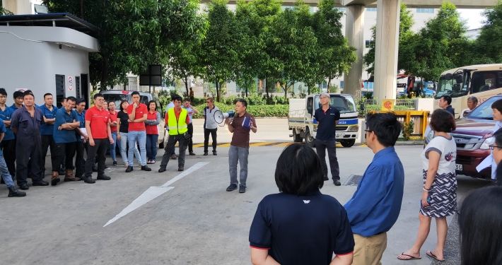 Fire Drill July 2019