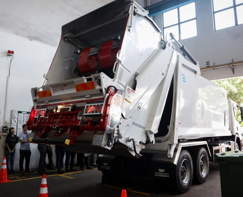 Product Launch OMB Rear End Loader